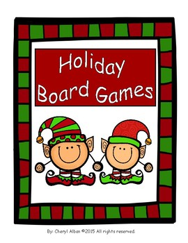 Holiday Board Games: Time and Money