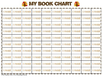 Holiday Book Charts FREEBIE