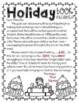 Holiday Book Exchange Parent Letter - Editable