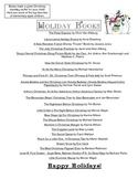 Holiday Book List for Parents
