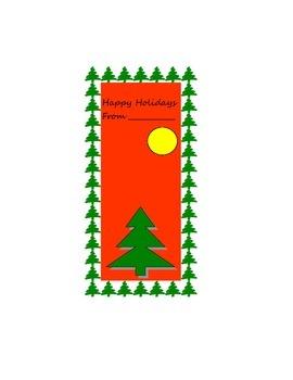 Holiday Book Mark