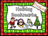 Winter Bookmarks Freebie!