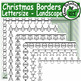 Holiday Borders Clip Set Commercial and Personal Use