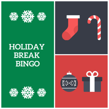 Holiday Break Bingo