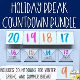 Holiday Break Countdown Bundle - 60 Seasonal School Counseling Activities