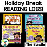 Holiday Break Reading Log BUNDLE! {Includes FOUR Products!}