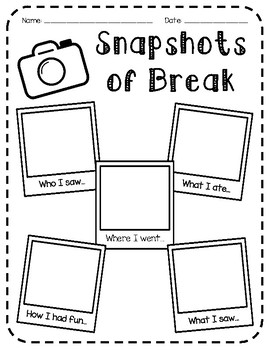 Holiday Break Snapshots