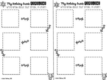 Holiday Break Writing Pack