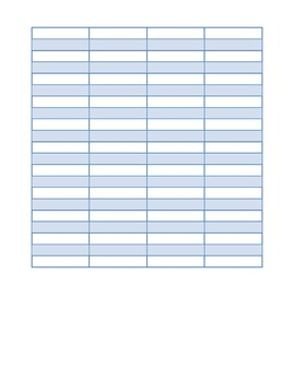 Holiday Budget Math Project