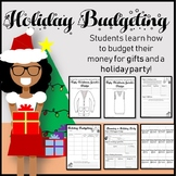 Holiday Budgeting Activities : Bonus Ugly Sweater Design Activity