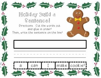 Holiday Build-A-Sentence Bundle!