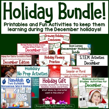 Holiday Fun Learning Bundle!