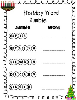 Holiday Bundle -Christmas Hanukkah and Kwanzaa