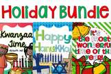 Holiday Bundle {Christmas, Hanukkah and Kwanzaa}
