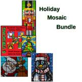 Holiday Bundle - Collaborative Colouring Math Mosaics
