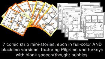Holiday Writing Bundle: Comic Strips for Creative Writing