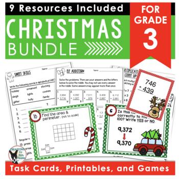 Holiday Bundle- ELA and Math Activities
