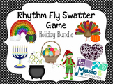 Rhythm Fly Swatter Game- Holiday Bundle