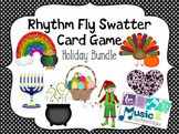 Rhythm Fly Swatter Card Game- Holiday Bundle