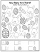 """Holiday Bundle - """"How Many Are There"""" Activity Sheets"""