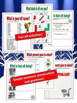 Christmas Activities - HOLIDAY BUNDLE - Grades 2 to 5