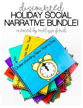 Holiday Bundle- Social Stories for Students with Special Needs