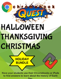 Holiday Bundle WebQuest - Engaging Internet Activities (Edit on Google Slides)