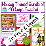 Holiday Bundle of Logic Puzzles! 48 Puzzles at 25% off Dis