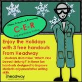 Holiday CER - Argumentative Writing