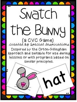 Holiday CVC Snatch Card Games Bundle! Orton-Gillingham Inspired
