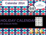 Holiday Calendar 2014