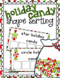 Holiday Candy Shape Sorting
