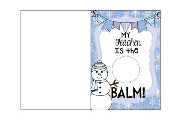 Holiday Cards FREEBIE