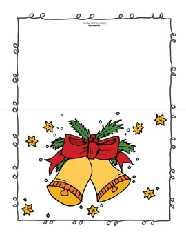 Holiday Cards and Coloring