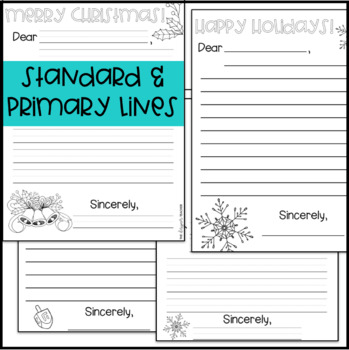 Holiday Cards and Notes | Holiday Activity