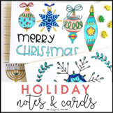 Holiday Cards | Holiday Letter Writing | Holiday Writing Activity