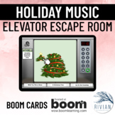 Holiday Carol Escape Room - Melody Identification and Ear