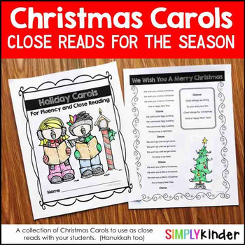 Christmas Carols For Reading and Singing