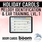 Holiday Carols - Melody Identification and Ear Training Le