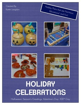 Holiday Celebrations Pack - Complete Materials for Four Celebrations!
