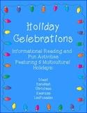 Celebrations Holiday Unit: Christmas, Hanukkah, Kwanzaa, D