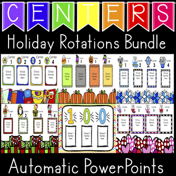 Holiday Center Rotations Automatic PowerPoints