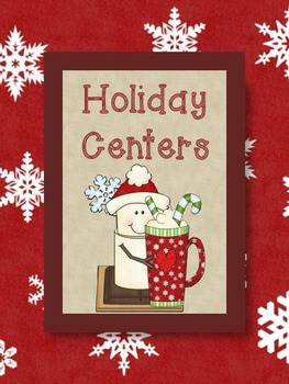 Holiday Centers - ELA and Math for the Primary Classroom