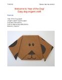 Holiday- Chinese New Year Dog Craft