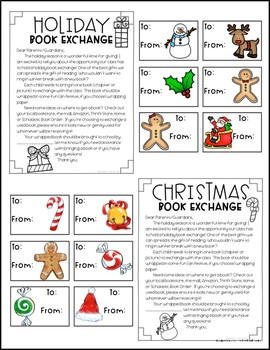 Holiday / Christmas Book Exchange
