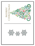 Holiday Christmas Card Activity for Students