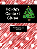 Holiday Christmas Context Clues PRINTABLE!
