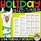 Holiday Gift Tags with Christmas Llamas: Fa-La-La-La-Llama!