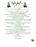 Holiday/Christmas Grab Bag Game