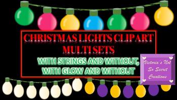 Holiday Christmas Lights Multi